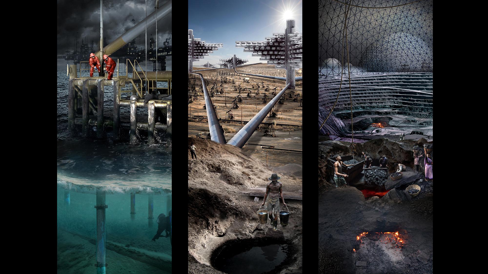 Last Utopia triptych