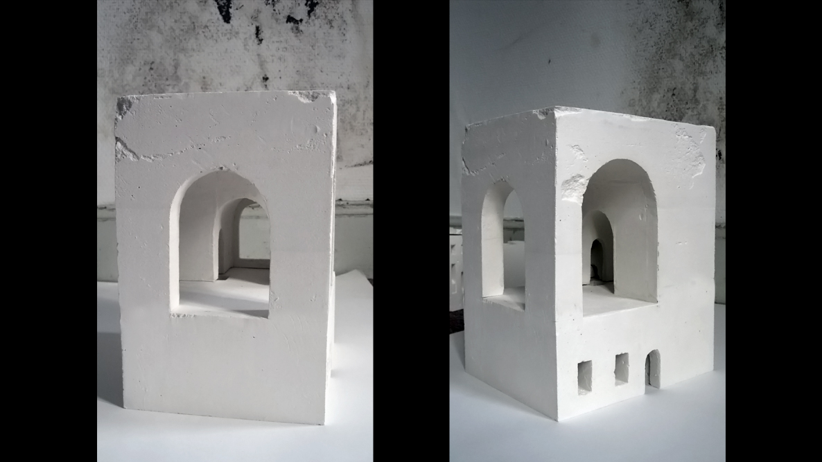 plaster models piano nobile